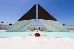 Monumento Combatentes Ultramar, Lissabon royaltyfri fotografi