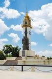 Monumento commemorativo 2 del Cambogia-Vietnam Fotografia Stock