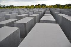 Monumento commemorativo di olocausto - Berlino Fotografia Stock Libera da Diritti