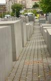 Monumento commemorativo di olocausto a Berlino Fotografie Stock Libere da Diritti