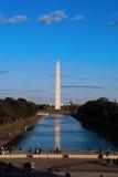 Monumento commemorativo di Washington sul viale di Washington fotografia stock libera da diritti
