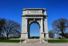 Monumento commemorativo nazionale dell'arco del parco della forgia della valle Fotografia Stock Libera da Diritti