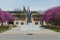 Monumento complejo de la Segunda Guerra Mundial del capitolio de Iowa Fotografía de archivo libre de regalías
