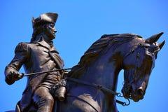 Monumento comune di Boston George Washington fotografia stock libera da diritti