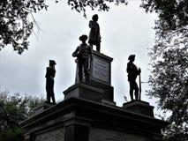 Monumento confederado, capitol do estado de Texas fotos de stock royalty free