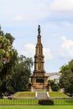Monumento confederado de la sabana Imagen de archivo