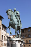 Monumento a Cosimo de 'Medici fotografia stock libera da diritti