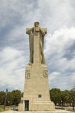 Monumento a Cristobal Col�n, a huge monument of Christopher Columbus by American architect G.V. Whitney, situated at the Punta d Stock Photo