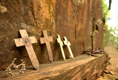 Monumento cruzado Fotografía de archivo libre de regalías