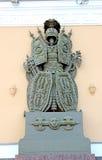 Monumento da armadura e dos protetores da batalha em St Petersburg Imagem de Stock