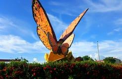 Monumento da borboleta Foto de Stock Royalty Free