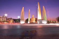 Monumento da democracia, Banguecoque fotografia de stock royalty free