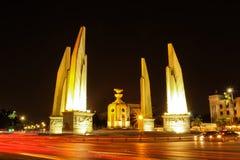 Monumento da democracia, Banguecoque Tailândia Imagem de Stock Royalty Free