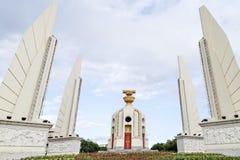 Monumento da democracia de Banguecoque, Tailândia Imagens de Stock