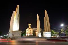 Monumento da democracia em Banguecoque Fotografia de Stock