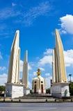 Monumento da democracia em Banguecoque, Tailândia Imagens de Stock Royalty Free