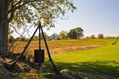 Monumento da guerra civil - 2 Imagem de Stock Royalty Free