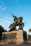Monumento da guerra civil Fotos de Stock Royalty Free