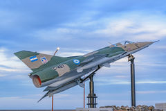 Monumento da guerra de Malvinas, Puerto San juliano, Argentina Imagem de Stock Royalty Free