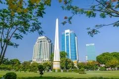 Monumento da independência, Yangon imagem de stock
