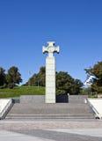 Monumento da liberdade e quadrado da liberdade, Tallinn Foto de Stock