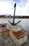 Monumento da memória da âncora no porto de Kinsale Fotos de Stock Royalty Free