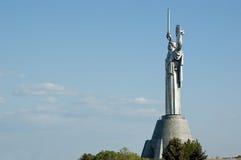 Monumento da pátria em Kiev, Ucrânia Fotos de Stock
