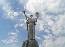 Monumento da pátria em Kyiv, Ucrânia Imagem de Stock