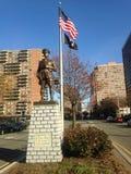 Monumento da polícia Fotos de Stock Royalty Free