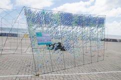 Monumento da proteção ambiental no homem maldives Fotos de Stock Royalty Free