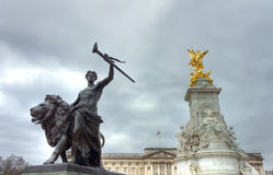 Monumento da rainha Victoria Imagens de Stock