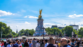 Monumento da rainha Victoria fotografia de stock royalty free