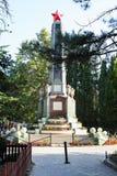 Monumento da revolução no parque urbano na cidade de Alushta Foto de Stock