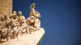 Monumento das descobertas, dos Descobrimentos de Padrão Fotos de Stock