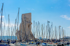 Monumento das descobertas, Lisboa Fotografia de Stock Royalty Free