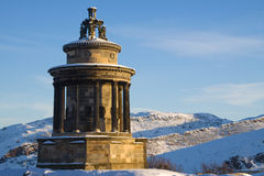 Monumento das queimaduras, monte de Calton, Edimburgo Imagem de Stock