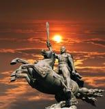 Monumento David Sasunskiy. Fotografía de archivo