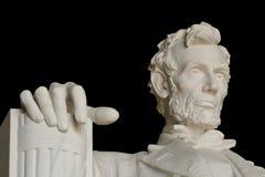 Monumento de Abraham Lincoln Fotos de archivo libres de regalías