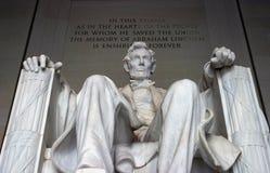 Monumento de Abraham Lincoln Imagenes de archivo