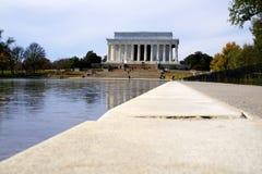 Monumento de Abraham Lincoln Imagen de archivo libre de regalías