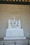 Monumento de Abraham Lincoln Imagen de archivo