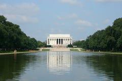 Monumento de Abraham Lincoln Fotos de archivo