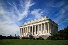 Monumento de Abraham Lincoln Foto de archivo libre de regalías