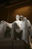 Monumento de Abraham Lincoln en Washington DC Imagen de archivo libre de regalías