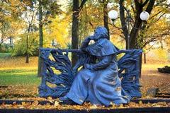 Monumento de Adán Mickiewicz Imágenes de archivo libres de regalías