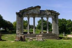 Monumento de Agonothetes en Apollonia. Imagen de archivo libre de regalías