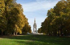 Monumento de Albert. Hyde Park. Londres Foto de archivo