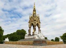 Monumento de Albert, Londres, Reino Unido Fotografía de archivo