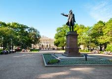 Monumento de Alexander Pushkin Imagen de archivo