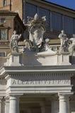 Monumento de Alexander VII fotografia de stock royalty free